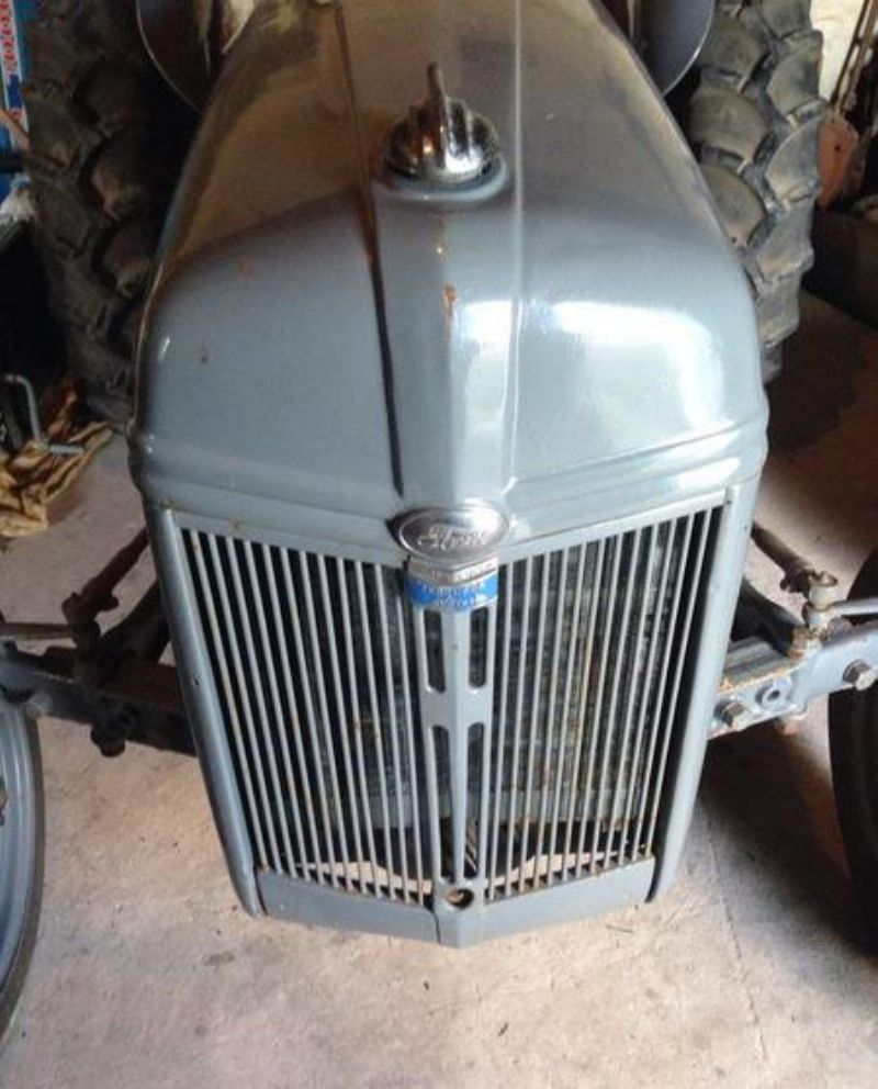 9n Ford Tractor For Sale: Ford Ferguson 9n Tvo Tractor